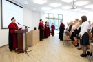Uroczyste rozdanie dyplomów absolwentom studiów licencjackich kierunków: elektroradiologia i audiofonologia