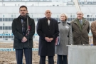 Uroczyste wmurowanie kamienia węgielnego pod budowę Szpitala Pediatrycznego Warszawskiego Uniwersytetu Medycznego