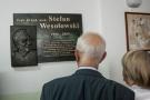 Tablica poświęcona pamięci prof. Stefana Wesołowskiego