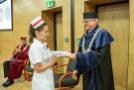 Czepkowanie absolwentek kierunku położnictwo