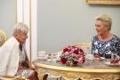 Pierwsza Dama dziękuje prof. Marii Borszewskiej-Kornackiej