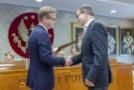 Spotkanie w Sali Senatu-12, Fot. Jarosław Oktaba Dział Fotomedyczny WUM.jpg