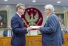 Spotkanie w Sali Senatu-15, Fot. Jarosław Oktaba Dział Fotomedyczny WUM.jpg