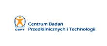 Baner przekierowujący na stronę Centrum Badań Przedklinicznych i Technologii