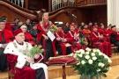 Uroczystość nadania tytułu Doktora Honoris Causa oraz LXXVII promocja lekarzy i lekarzy dentystów I Wydziału Lekarskiego