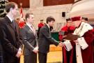 Uroczystość nadania tytułu Doktora Honoris Causa oraz LXXIX promocja lekarzy I Wydziału Lekarskiego