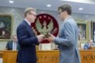 Spotkanie w Sali Senatu-4, Fot. Jarosław Oktaba Dział Fotomedyczny WUM.jpg