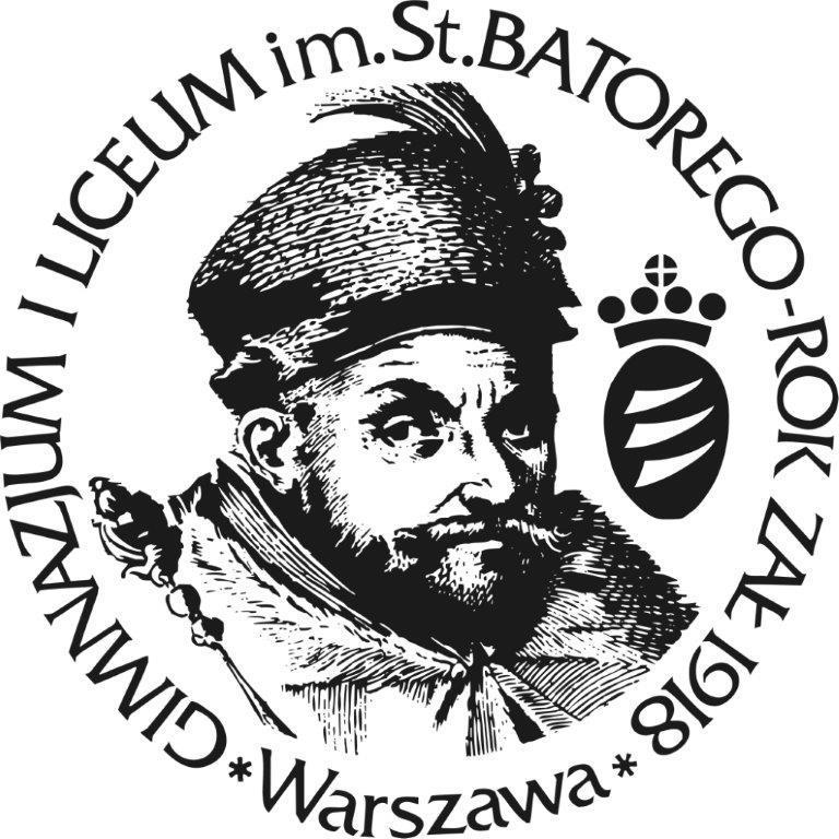 Logo II Liceum Ogólnokształcącego z Oddziałami Dwujęzycznymi im. Stefana Batorego