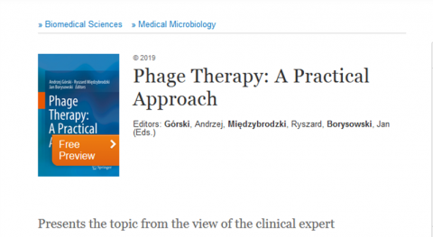 """Phage Therapy: A Practical Approach"""